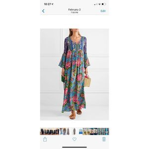NEW IBIZA HIPPIE FLORAL PATCHWORK DRESS